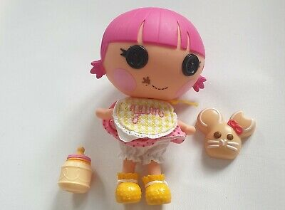 Lalaloopsy Littles Sprinkle Spice Cookie Doll With Accessories. Used Very Good • 9.99£
