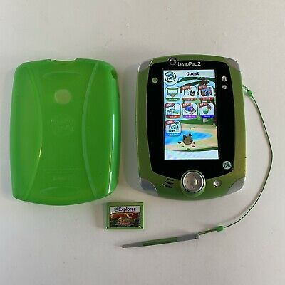 £21.79 • Buy LeapPad 2 Early Leaning System With Stylus, Rubber Case, & Magic School Bus Game