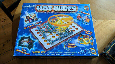 John Adams  Hot Wires  Electronics Kit • 10£