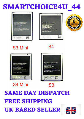 £3.99 • Buy Brand New For Samsung S1,S2,S3,S3 Mini,S4,S4Mini Replacement Battery