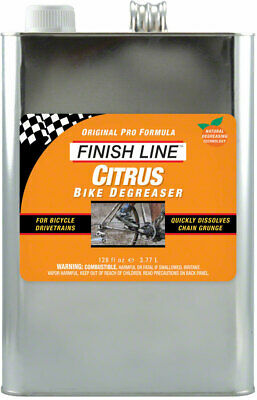 Finish Line Citrus Bike Degreaser 1 Gallon Biodegradable And Non-Toxic Cleaner • 54.25£