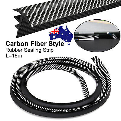 AU17.39 • Buy 1.6M AU Rubber Carbon Fiber Car Dashboard Gap Filling Sealing Strip Accessories