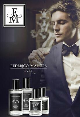 FM Pure Perfume By Federico Mahora For Men, 50ml • 13.95£
