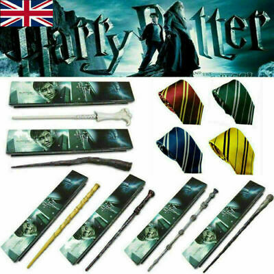 Harry Potter Dumbledore Voldemort Hermione Magic Wand Collection Cosplay + Box • 6.90£