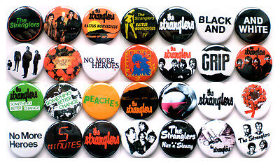 £15 • Buy The Stranglers 1977-1978 Badge Set - 28 Quality Button Badges (Punk)