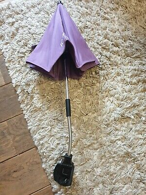 ICandy Peach /peach Jogger Grape Purple  Sun Parasol Umbrella And Clip  • 22.99£