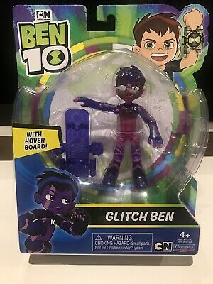 "BNIB Ben 10 Glitch Ben 5"" Play Action Toy Figure Cartoon Network Unwanted Gift • 7.50£"