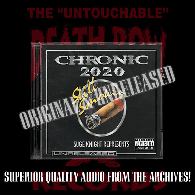 Death Row Records - Rare Chronic 2020 Raw & Uncut Promo Unreleased 4 Disc Set • 90£