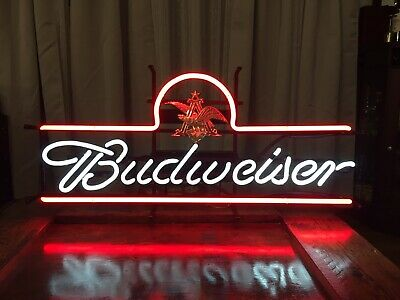 $ CDN169.19 • Buy Brand New Budweiser Beer Neon Sign