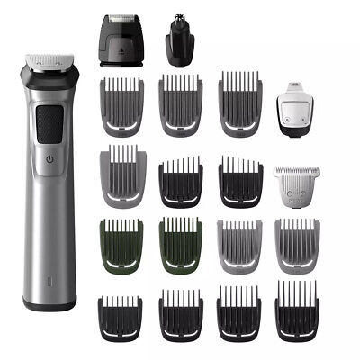 AU164.95 • Buy Philips Norelco Multigroom 7000 23-in-1 Head To Toe Trimmer MG7790 7750 In Box