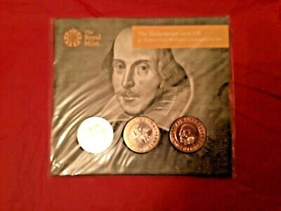 2016 Shakespeare  £2 Pound Coin Pack - Sealed • 38£