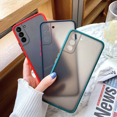 $ CDN3.75 • Buy Shockproof Hard Matte Case Cover For Samsung Galaxy A52 A72 A32 S21 Ultra S20 FE