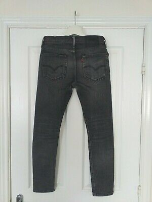LEVI's 519 Extreme Skinny Black Denim Stretch Jeans Mens W30 L30 RRP £80.00  VGC • 24.95£