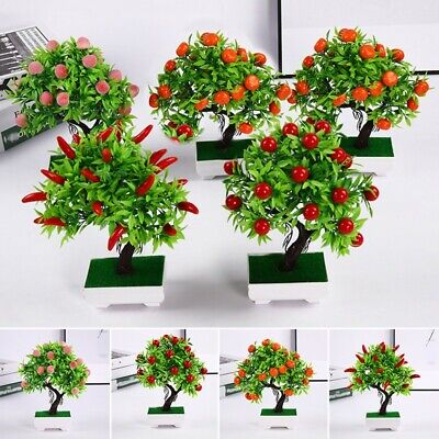 Artificial Potted Plant Fake 23 Fruits Wedding Home Decor High Quality Durable • 7.81£