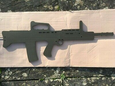 £24.99 • Buy Wooden SA80 / L98A2 Training Aid/ WALL PLAQUE Military Army Style
