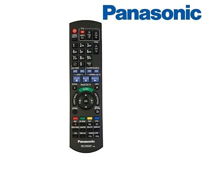 £40.05 • Buy Genuine Panasonic Remote For DVD Recorder With HDD & Freeview HD N2QAYB001059