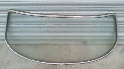 Volvo P1800 S Front Screen Complete With Chrome Inserts • 200£