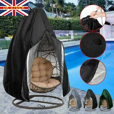Egg Wicker Swing Chair Cover For Hanging Hammock Stand Seat Patio Garden Outdoor • 19.43£