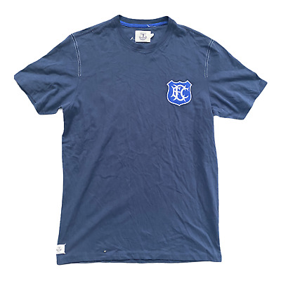 Everton Men's T-Shirt Fanatics Football Heritage Crest T-Shirt - Navy - New • 11.99£