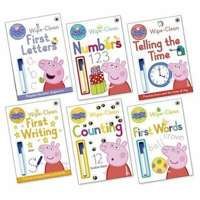 £14.99 • Buy Peppa Pig Home Learning Book Pack Collection (6 Books) RRP £23.94 BRAND NEW