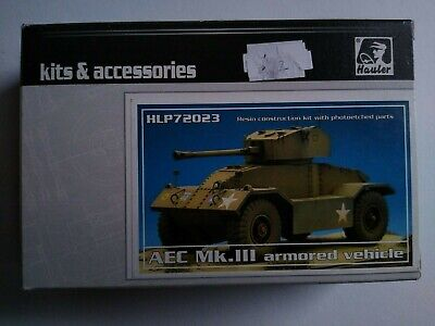 Hauler 1/72 Scale Aec Mk.iii Armoured Car Resin Kit New  • 18.75£