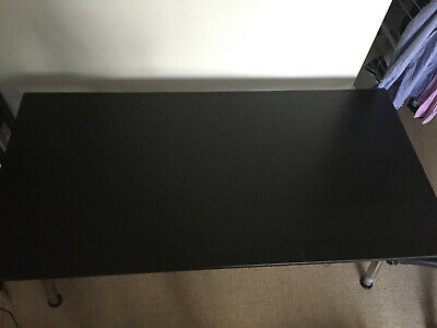 Black Particle IKEA Idasen Desk (with Adjustable Legs), 160x80 Cm Work From Home • 30£