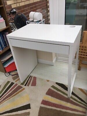 IKEA Micke Computer Desk Work Home Desk White. • 21£