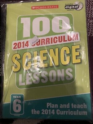 Year 6 Science Planning And Teaching Book 100 Lessons New Curriculum • 3£