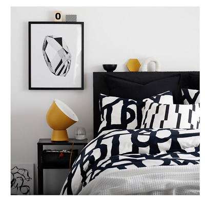 IKEA SKUGGBRÄCKA SKUGGBRACKA Single Size Duvet Cover Set 1 Pillowcase 150x200cm • 25.99£