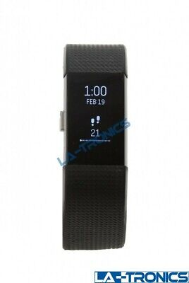 $ CDN46.39 • Buy Fitbit Charge 2 Activity Tracker + Heart Rate Watch Black Small - FB407SBKS