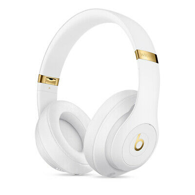Original Apple Beats By Dr Dre Studio 3 White Wireless KopfhÖrer Weiss Gold • 98.10£