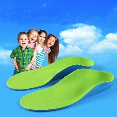 Kids Children Orthopedic Insoles For Children Shoes Flat Foot Arch Support • 8.61£