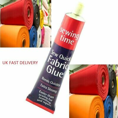 £3.29 • Buy FABRIC GLUE EXTRA STRONG TEXTILE Hemming ADHESIVE BONDS SEWING CLOTHES CLOTH UK