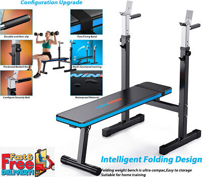 Weight Bench Multi Adjustable Gym Workout Exercise Flat Incline Decline Sit Up • 149.99£