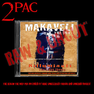 2PAC - Rare Makaveli Original Album Raw & Uncut Promo Unreleased • 35£
