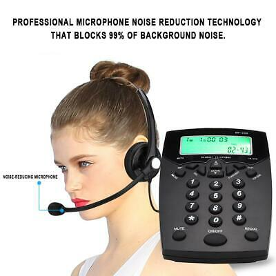 £28.32 • Buy BN200 Call Center Telephone Noise Cancellation Headset Office Operator Phone SS