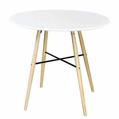 AU165.95 • Buy New Dining Table MDF Round White