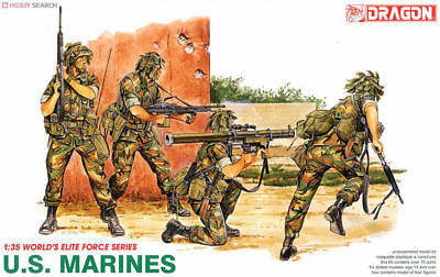 Dragon 1/35 #3007 - US Marines - 4 Figures • 15£