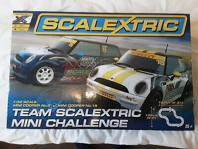 Scalextric Mini Challenge With Cars 5 And 15 • 40£