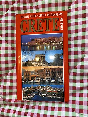 English Tourist Guide Book Crete • 7.99£