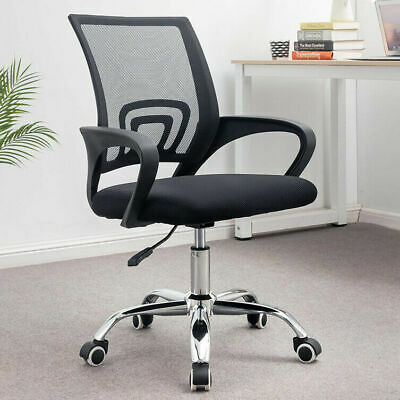 AU54.99 • Buy Adjustable Ergonomic Gaming Office Chair Computer Chair Mesh Desk Chairs Black