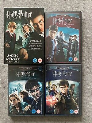 $ CDN31.54 • Buy Harry Potter Complete Collection Years 1-8 DVD Box Set