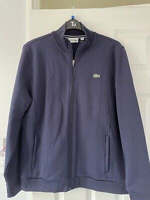 Lacoste Tracksuit Top XXL Navy Blue • 15£