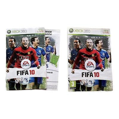 £1.80 • Buy Xbox 360 FIFA 10 Manual & Cover Sleeve Only
