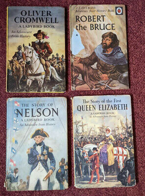 4 Vintage Ladybird Books - History Series 561 - Two With Dustcovers • 0.99£