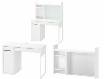 NEW IKEA Micke Computer Desk Drawer Home OR Office White 105x50cm • 64.99£