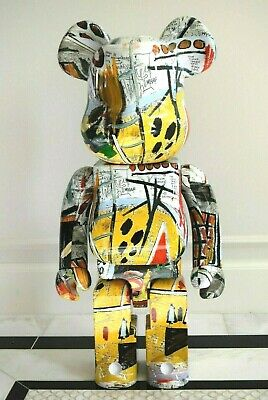 $2899.99 • Buy Bearbrick Jean-Michel Basquiat #1 1000% Be@rbrick 1st Medicom Version 1 *New!