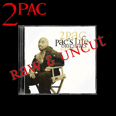 2PAC - Rare Pac's Life Original Album Raw & Uncut Promo Unreleased • 35£