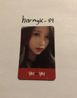 $ CDN9 • Buy Twice Official Yes Or Yes 6th Mini Album Mina Photocard
