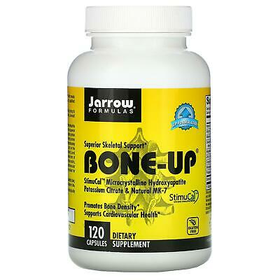 £17.03 • Buy Jarrow Formulas Bone-Up Bone Density Support 120 Capsules Dietary Supplement